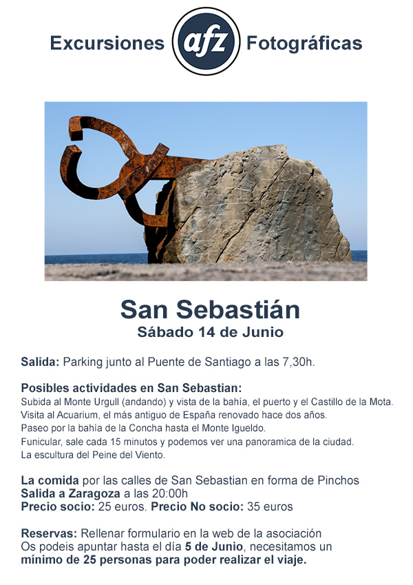 excursion San Sebastian
