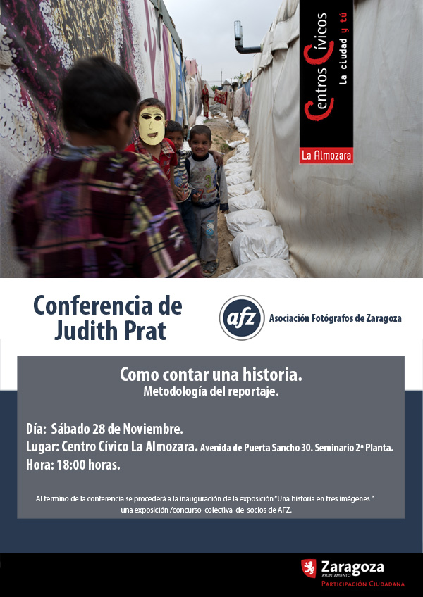 Cartel Conferencia Judith